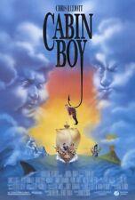 CABIN BOY MOVIE POSTER 2 Sided ORIGINAL 27x40 CHRIS ELLIOTT