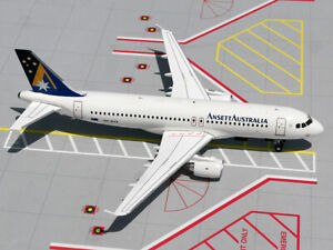GEMINI 1:200 AIRBUS A320 ANSETT AUSTRALIA, VH-HYX G2AAA165 NEW