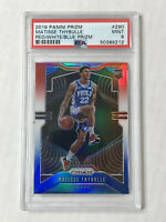 MATISSE THYBULLE 2019 Prizm RED WHITE BLUE PRIZM SP RC! PSA MINT 9! #290! 76ERS!