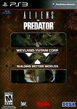 Alien vs. Predator -- Hunter Edition (Sony PlayStation 3, 2010) BRAND NEW SEALED