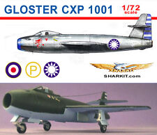 Gloster CXP 1001-  1/72 scale - resin kit