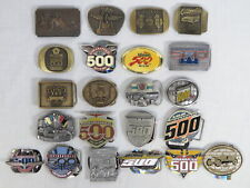 Lot 22 Indianapolis Motor Speedway Belt Buckles Limited Editions Indy 500 NEW