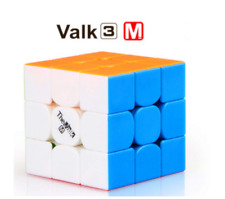 Qiyi Valk3 M Magnetic Speed 3x3 Stickerless Power Smooth Magic Cube Puzzle Toys