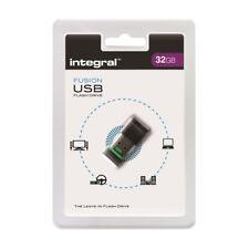 Memoria Port Fusión gris USB 2.0 32GB integral Memory