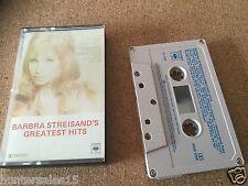rare Greatest Hits BARBRA STREISAND CASSETTE ALBUM Australian Made