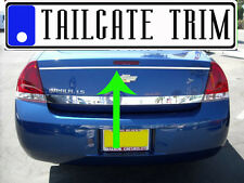 Chevy IMPALA 2006 07 08 09 Chrome Tailgate Trunk Trim