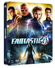 Fantastic 4 Limited Edition Steelbook Blu-ray UK Exclusive Region B NEW SEALED
