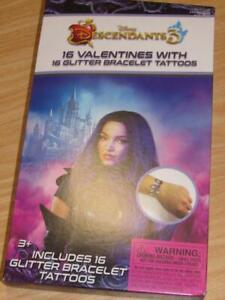 Disney Descendants 3 16 Valentines Day Cards Tattoos Classroom Exchange