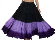 Wevez Theartical Its 25 Yard Bely Dance Skirts Triple Dye Style