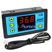 W3231 DC 12V Dual Display Digital LCD Thermostat Temperature Controller W/ Probe