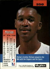 1992-93 SkyBox Atlanta Hawks Basketball Card #350 Morlon Wiley