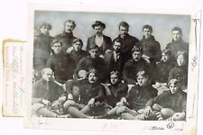 1896 Football Team Unidentified From Kingsport Press Tennessee Publisher