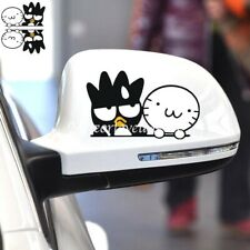 BADTZ-MARU Couple Cartoon Paperclip Cover Car Decal Decoration Stickers 1 Pair