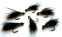 Black Traffic Lights Cormorant Still Water Lake Lures Trout Fly Fishing Flies