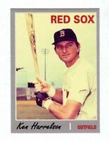 "Ken ""Hawk"" Harrelson '67 Boston Red Sox Monarch Corona Classic Series #14"