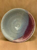 P. PONCHO SIGNED POTTERY DECORATIVE BOWL