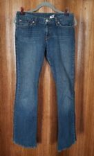 Lucky Brand SOHO Mid Rise Flare Blue Jeans Women's Size 4/27