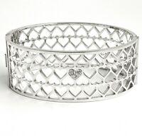 Guess UBB85067 Damen Armreif Armband  IP Silber neu