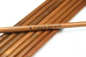 """50x Super Bamboo arrow shafts 33"""" shaft only/ varied spine group choice freely"""