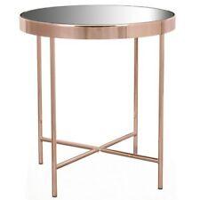 New Modern Stylish Hepburn Copper Finish steel Frame Side Table