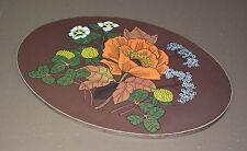 Dessous de plat FORMICA FLEURS vintage ancien repose plat déco cuisine trivet