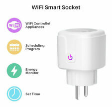 Adaptador Enchufe WiFi inteligente Control Con Amazon Alexa Google Asistente