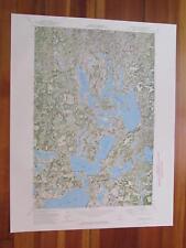 Mantrap Lake Minnesota 1974 Original Vintage USGS Topo Map