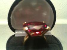 Sz 6 Or Sz 8 + Bonus! 8 Ct Lcs* Garnet Engagement Cocktail Anniversary Ring