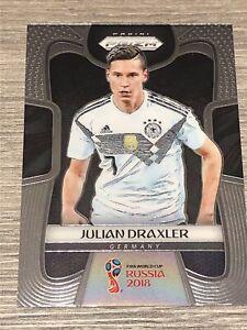 Panini Prizm 2018 World Cup Soccer RC #91 Julian Draxler PSG Base Card