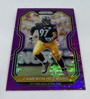 2020 Panini Prizm Cameron Heyward Fanatics Purple Pulsar SP Pittsburgh Steelers