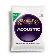 Martin strings M170 80/20 bronze acoustic guitare strings extra light 10-47