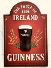 Guinness Dublin Bottled Draught 3D Wall Art Sign