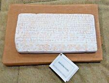Slab of Baska Baška tablet Bašćanska ploča Replica St. Lucia Church Croatia