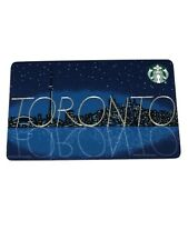 STARBUCKS City card Toronto Canada 2020
