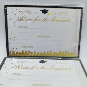 Graduation Advice Cards for Graduate/Graduation 36 Cards
