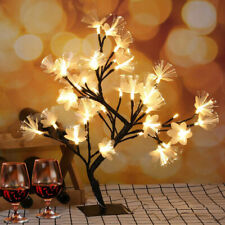 48LED Cherry Blossom Bonsai Tree Light Up Indoor Home Christmas Party Decoration