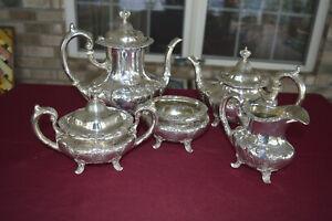 Burgundy by Reed & Barton - Sterling Silver Tea/Coffee Service - No monos
