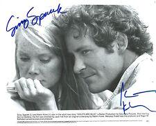 Sissy Spacek & Kevin Kline signed Violets Are Blue 8X10 Original Still Photo