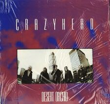 CRAZYHEAD desert orchid FOODLP1 A1/B1 1st press in open shrink LP PS EX+/EX+