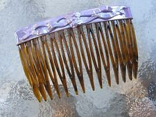 "Vintage Art Deco Hair Side Comb 2 3/4"" Comb NEW  Made in USA"