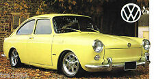 Volkswagen VW TYPE 3 FASTBACK SPEC SHEET / Brochure: 1969,1970,1971,