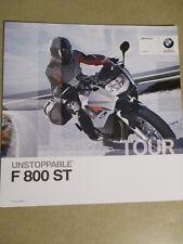 CATALOGUE MOTO : BMW : F 800 ST   08/2010
