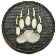 WOLF TRACKER PAW USA ARMY MILITARY MORALE TACTICAL BADGE ACU DARK HOOK PATCH