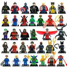 34 pcs lot Marvel DC Super Heroes Avengers Lego Compatible Building Blocks Set