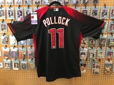 A.J. POLLOCK Diamondbacks AUTOGRAPH JERSEY 52 FLEX BASE Authentic MLB w/ JSA COA