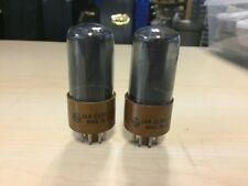 2 GE General Electric Smoked Glass 6V6GTY 6v6 Vacuum Tubes Tested Guaranteed! #2
