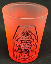 Key West Florida Southernmost Point Shot Glass