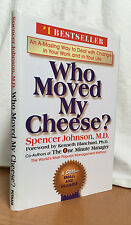 WHO MOVED MY CHEESE?: An A-Mazing Way to Deal with Change in Your Work ...