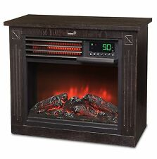 5,100 BTU Infrared Quartz Ivation Fireplace – 1500W Electric Heater with Realist