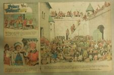(52) Prince Valiant Sundays by Harold Foster/Murphy from 1973 All Half Page Size